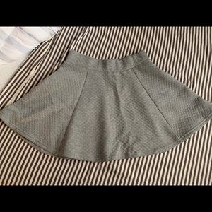 Grey skirt, H&M